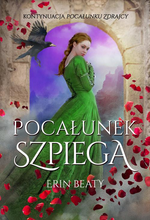 okładka Pocałunek szpiega, Książka | Erin Beaty