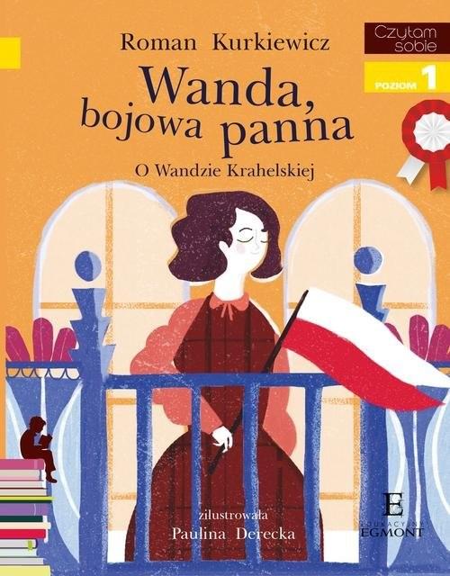 okładka Czytam sobie Wanda bojowa panna poziom 1, Książka | Kurkiewicz Roman