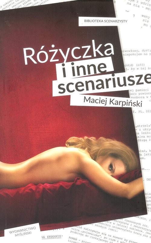 okładka Różyczka i inne scenariusze, Książka | Maciej Karpiński