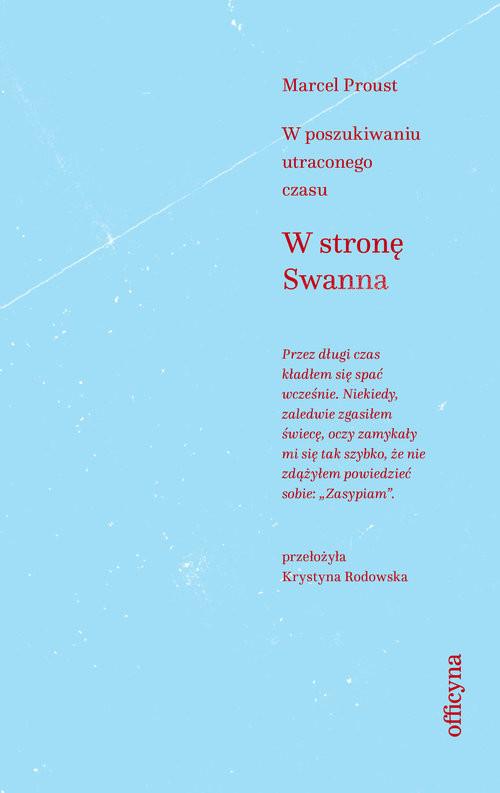 okładka W stronę Swanna, Książka | Proust Marcel