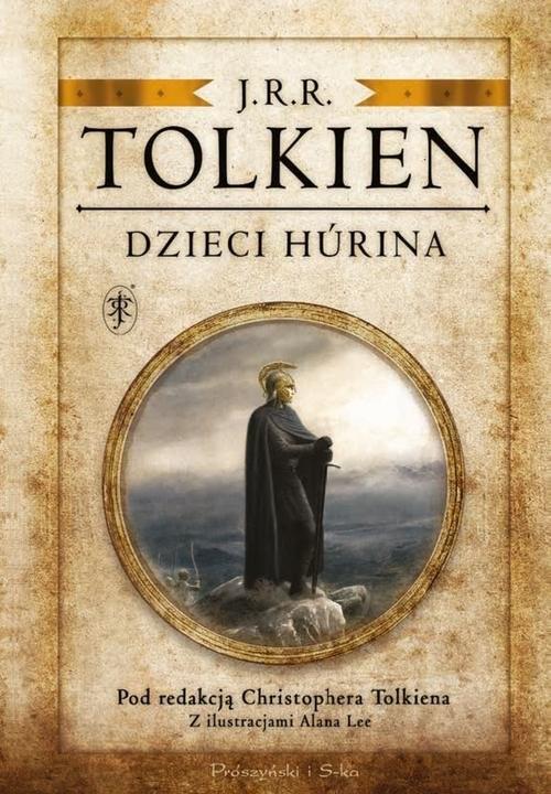 okładka Dzieci Húrina Pod redakcją Christophera Tolkiena, Książka | J.R.R.  Tolkien