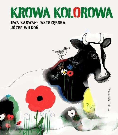 okładka Krowa kolorowa, Książka | Ewa Karwan-Jastrzębska