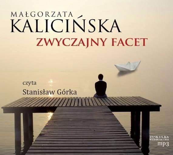 okładka Zwyczajny facetaudiobook | MP3 | Małgorzata Kalicińska