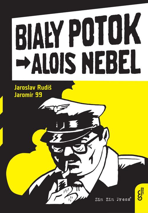 okładka Alois Nebel 1 Biały Potok, Książka   Jaroslav Rudiš, 99 Jaromir