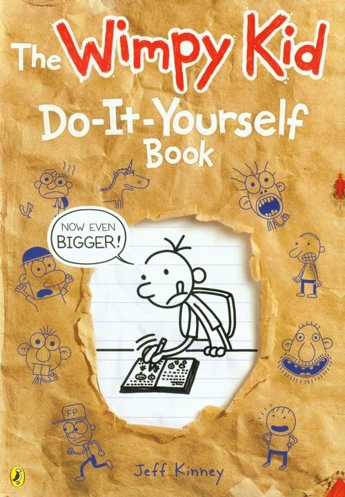 okładka Diary of a Wimpy Kid Do-It-Yourself Book, Książka   Kinney Jeff