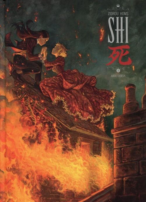 okładka Shi 2 Król Demon, Książka   Zidrou