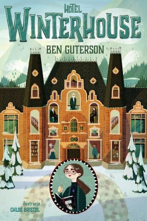 okładka Hotel Winterhouse, Książka | Guterson Ben