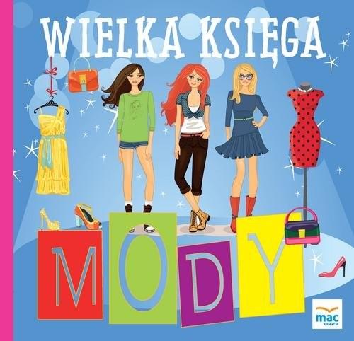 okładka Wielka księga mody, Książka | Marczewska Magdalena