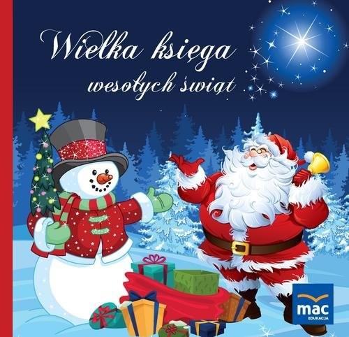 okładka Wielka księga wesołych świąt, Książka | Marczewska Magdalena