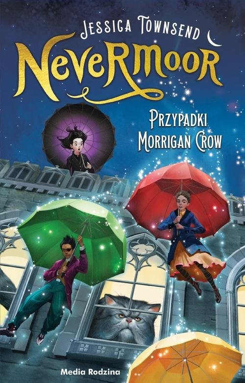 okładka Nevermoor Tom 1  Przypadki Morrigan Crowksiążka |  | Jessica Townsend, Piotr Budkiewicz