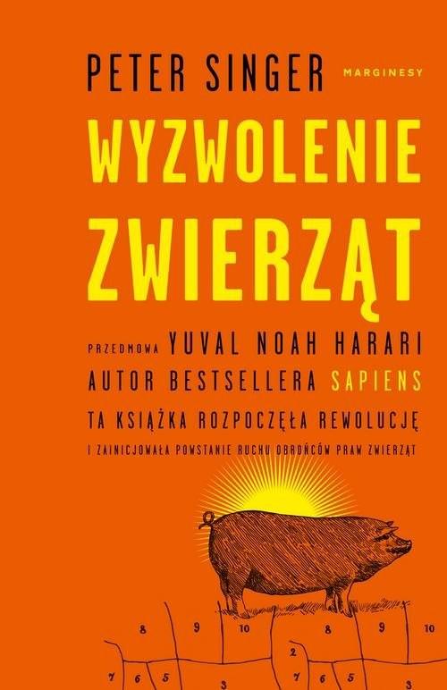okładka Wyzwolenie zwierząt, Książka | Singer Peter