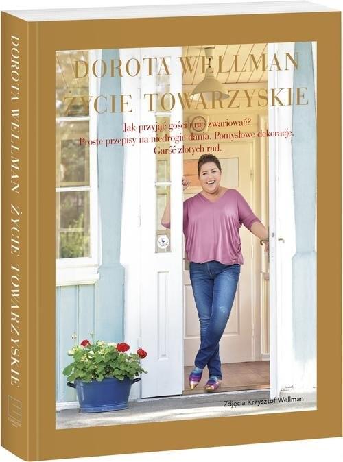 okładka Życie towarzyskie, Książka | Wellman Dorota