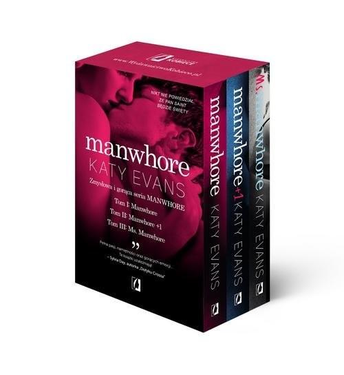 okładka Manwhore / Manwhore + 1 / Ms. Manwhore Pakietksiążka |  | Katy Evans