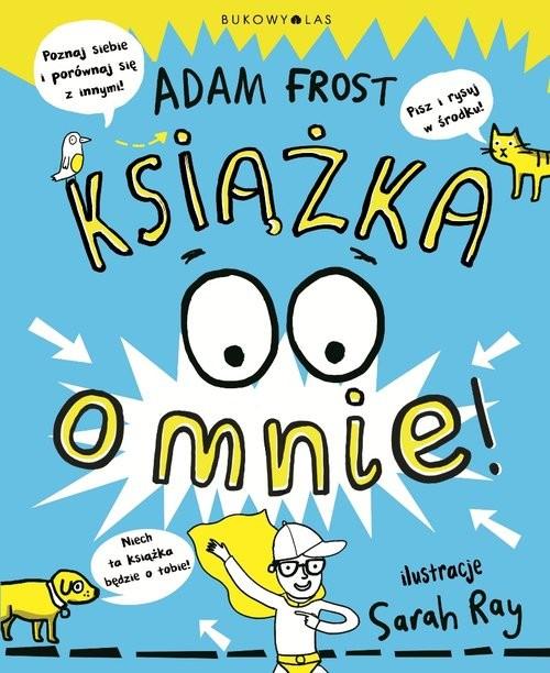 okładka Książka o mnie, Książka   Adam Frost