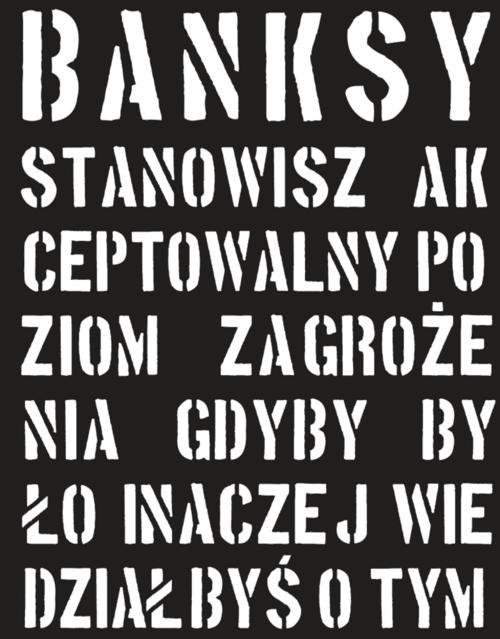okładka Banksy, Książka |