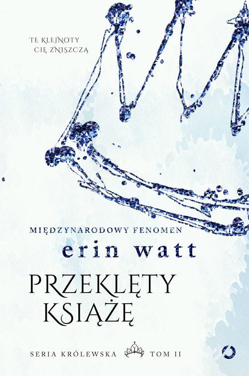 okładka Przeklęty książę, Książka | Watt Erin