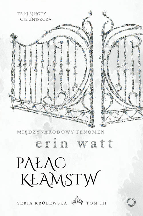 okładka Pałac kłamstw, Książka | Watt Erin
