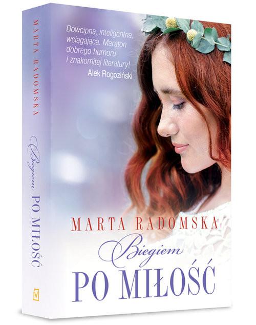 okładka Biegiem po miłość, Książka | Marta Radomska