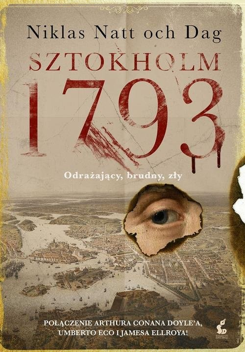 okładka Sztokholm 1793. KsiążkaNatt-och-Dag Niklas