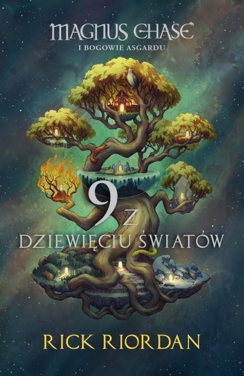 okładka 9 z dziewięciu światów, Książka | Riordan Rick