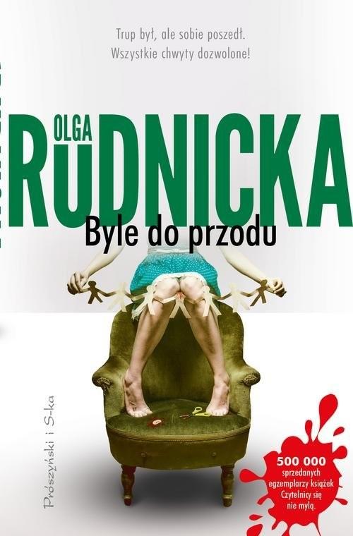 okładka Byle do przodu, Książka | Olga Rudnicka