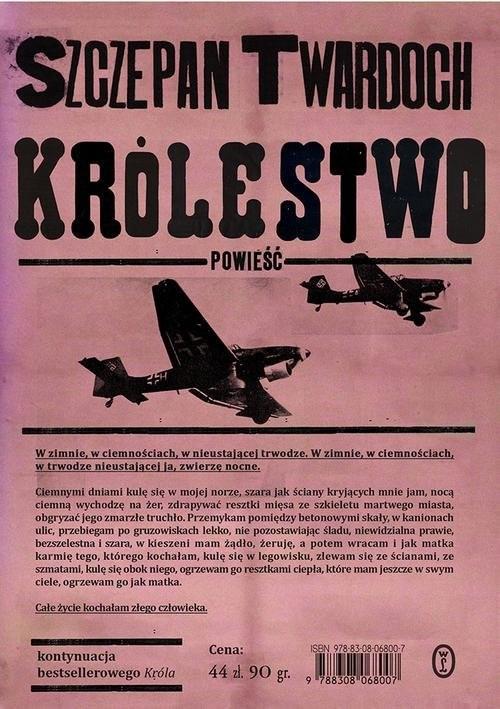 okładka Królestwoksiążka |  | Twardoch Szczepan