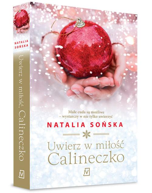 okładka Uwierz w miłość, Calineczko, Książka | Sońska Natalia