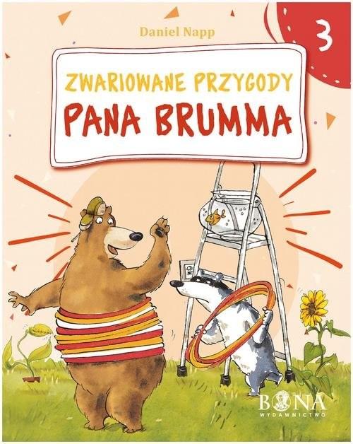 okładka Zwariowane przygody Pana Brumma cz. 3, Książka | Napp Daniel