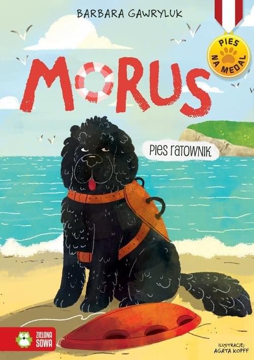 okładka Morus Pies ratownik, Książka | Barbara  Gawryluk