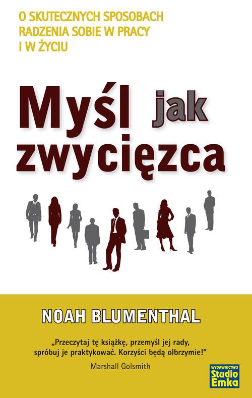 okładka Myśl jak zwycięzca, Książka | Noah Blumenthal