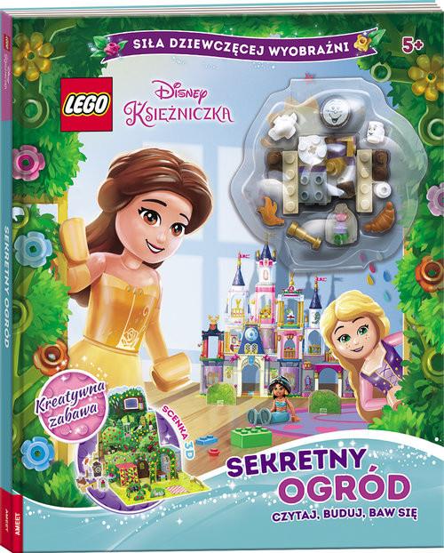 okładka Lego Disney Księżniczka Sekretny Ogród Czytaj, Buduj, Baw Się LMB-6101, Książka |