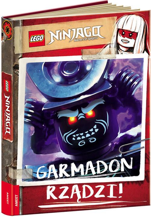 okładka Lego Ninjago Garmadon Rządzi! LKC-701, Książka |