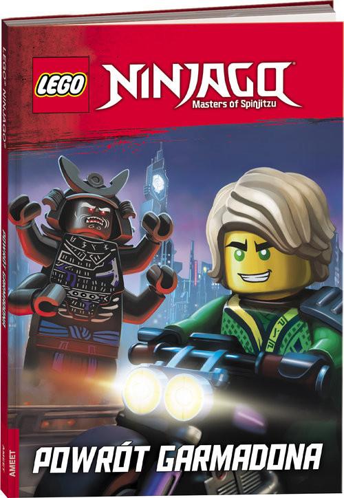 okładka Lego Ninjago Powrót Garmadona LNRD-17, Książka  