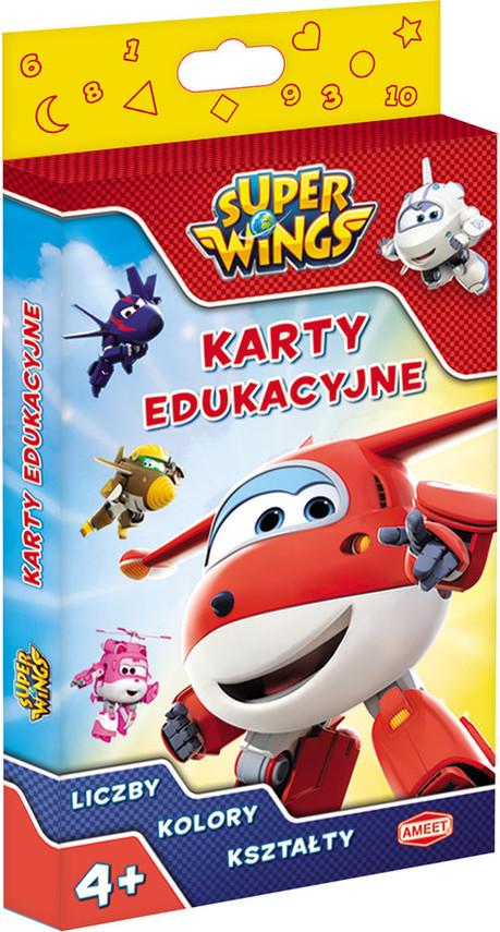 okładka Super Wings karty edukacyjne PCK-301, Książka  