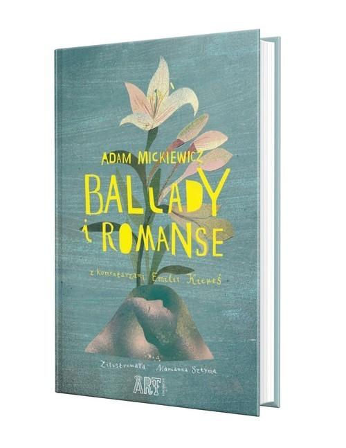 okładka Ballady i romanse, Książka | Mickiewicz Adam