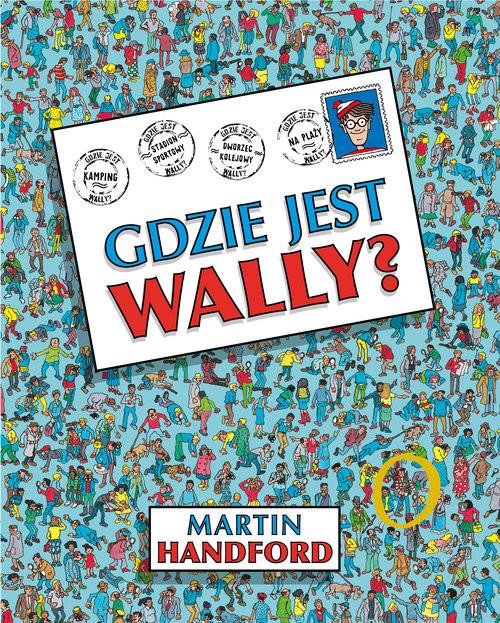 okładka Gdzie jest Wally?, Książka | Handford Martin