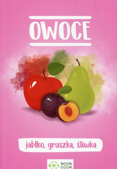 okładka Owoce jabłko gruszka śliwka, Książka |