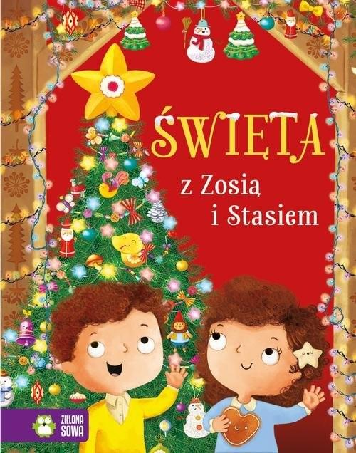 okładka Święta z Zosią i Stasiem, Książka | Cholewińska-Szkolik Aniela