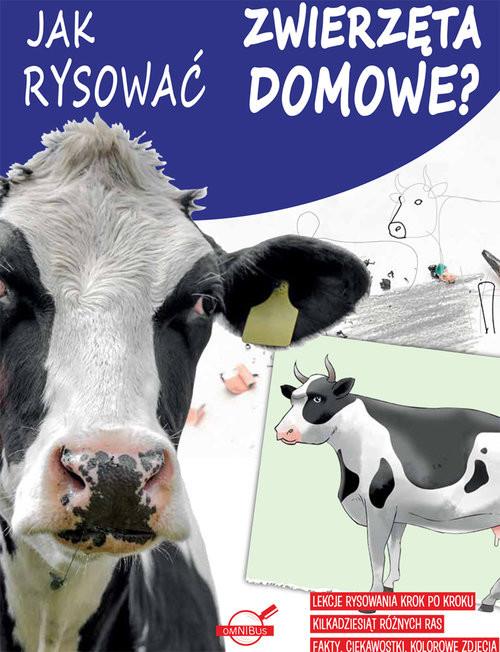 okładka Jak rysować zwierzęta domowe?, Książka |