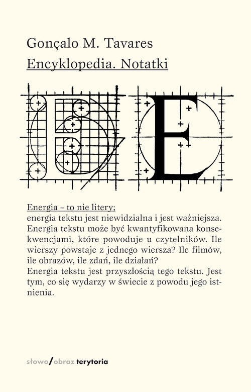 okładka Encyklopedia Notatki, Książka   Gonçalo M. Tavares