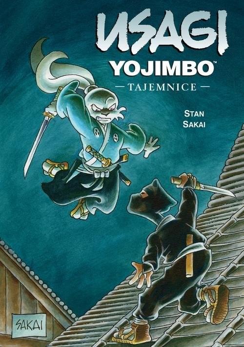 okładka Usagi Yojimbo 27 Tajemnice, Książka | Sakai Stan