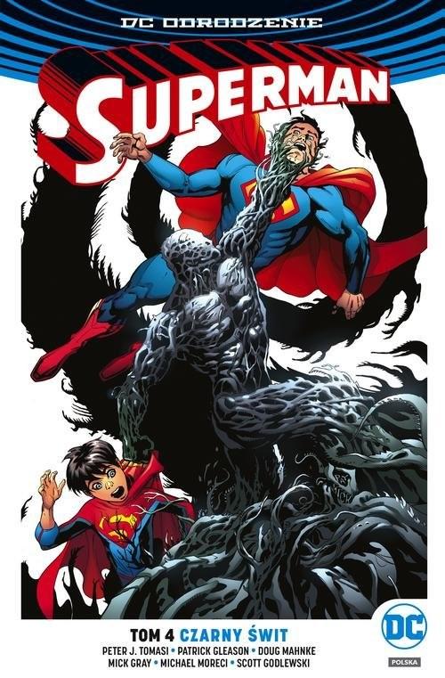 okładka Superman Tom 4 Czarny świt, Książka | Peter J. Tomasi, Patrick Gleason, Mich Moreci