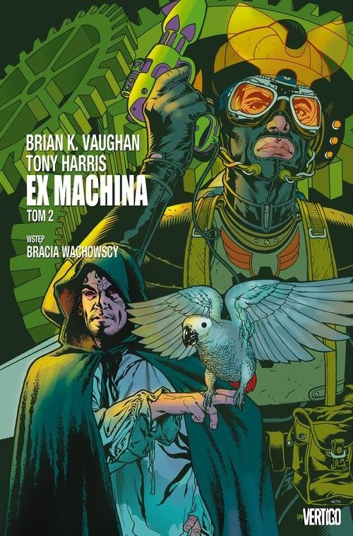 okładka Ex Machina Tom 2, Książka | Brian K. Vaughan