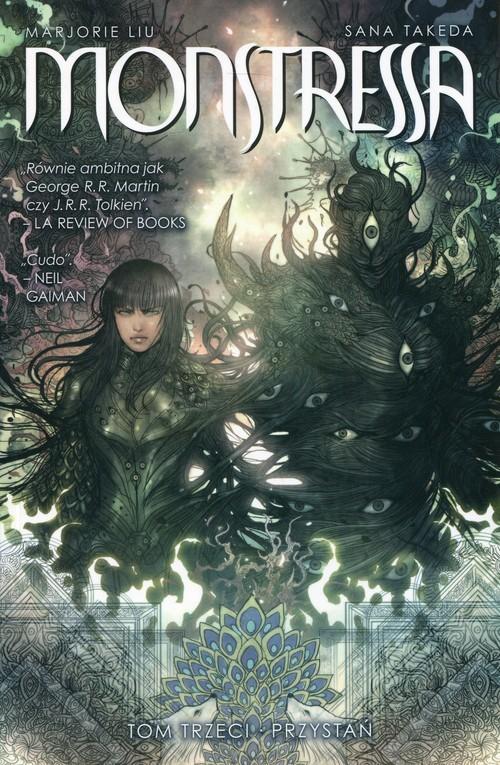 okładka Monstressa Tom 3 Przystań, Książka | Liu Marjorie