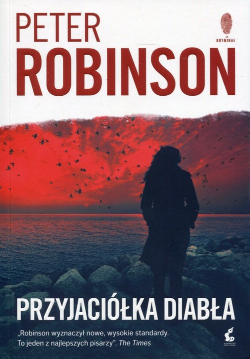 okładka Przyjaciółka diabła, Książka | Robinson Peter