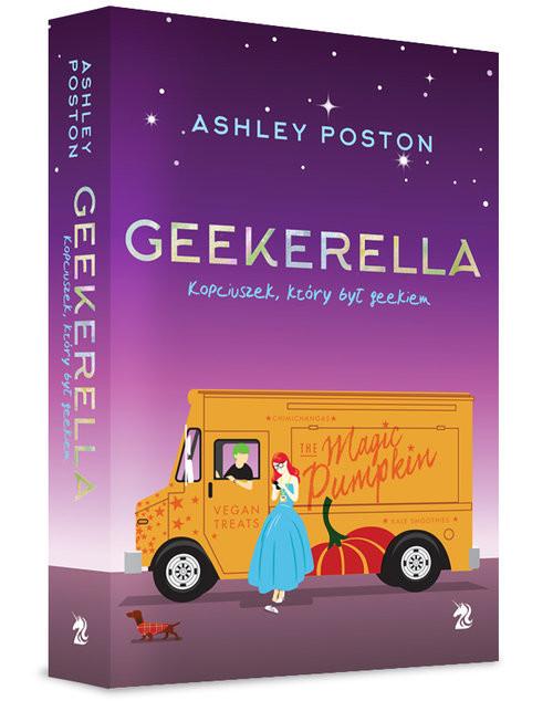 okładka Geekerella Kopciuszek, który był geekiem, Książka | Ashley Poston