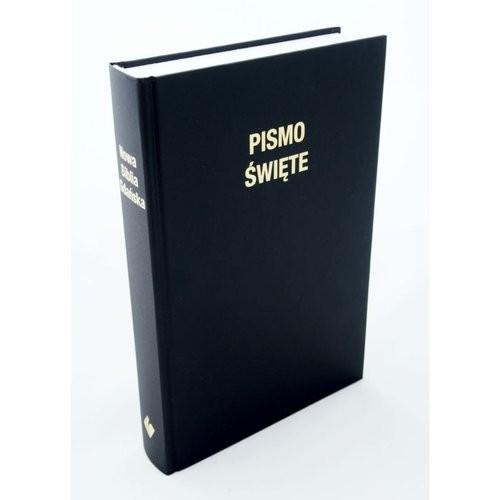 okładka Nowa Biblia Gdańska oprawa twarda czarna - wyd.IV, Książka  