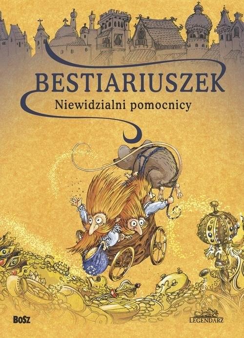 okładka Bestiariuszek Niewidzialni pomocnicy, Książka | Vargas Witold