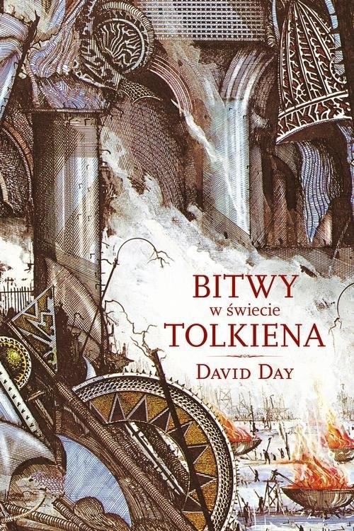 okładka Bitwy w świecie Tolkiena, Książka | Day David