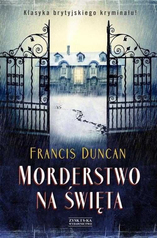 okładka Morderstwo na Święta, Książka | Duncan Francis